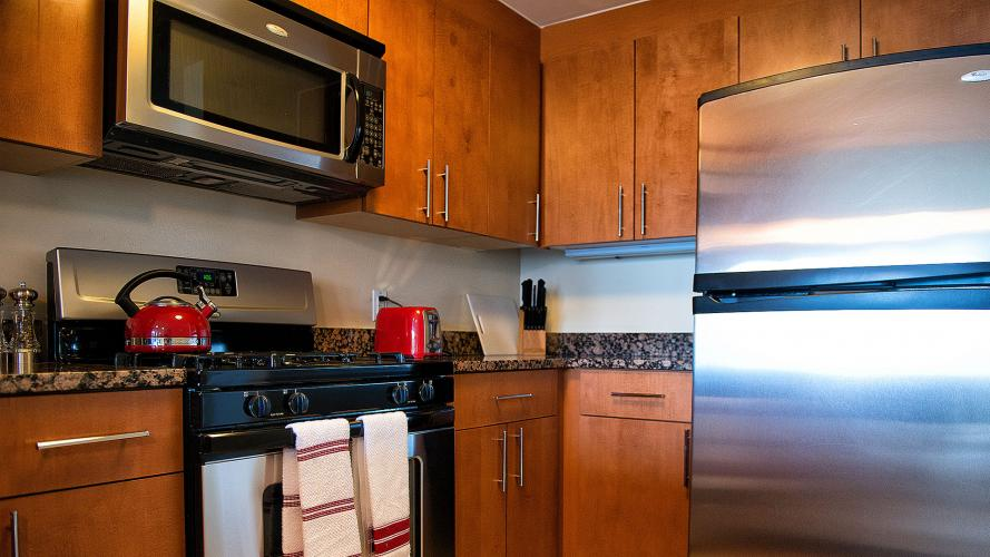 Fully Equipped Kitchen Crystal Quarters Corporate Housing